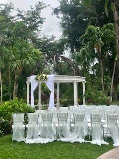 Ceremony Pavilion awaits guests at Sandals Royal Barbados