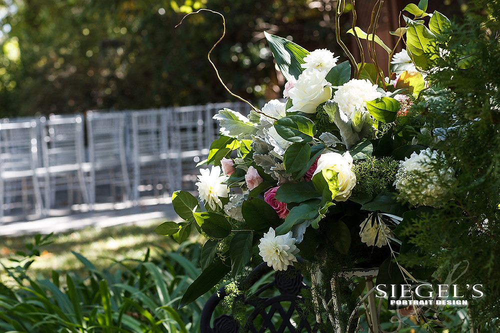 Garden Romance | Alyssa + Adam | Bridal Bouquet by Visual Impact Design | Photo by Siegel's Portrait Design | Venue: Newcastle Wedding Gardens, California