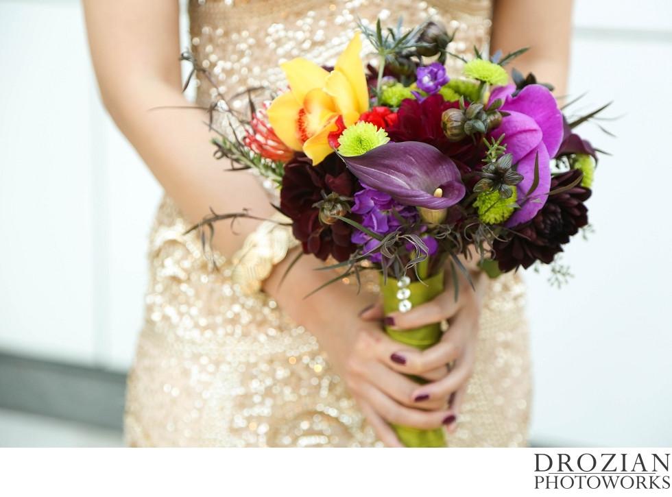 Bouquet by Visual Impact Design | Crocker Art Museum Wedding | Drozian Photoworks
