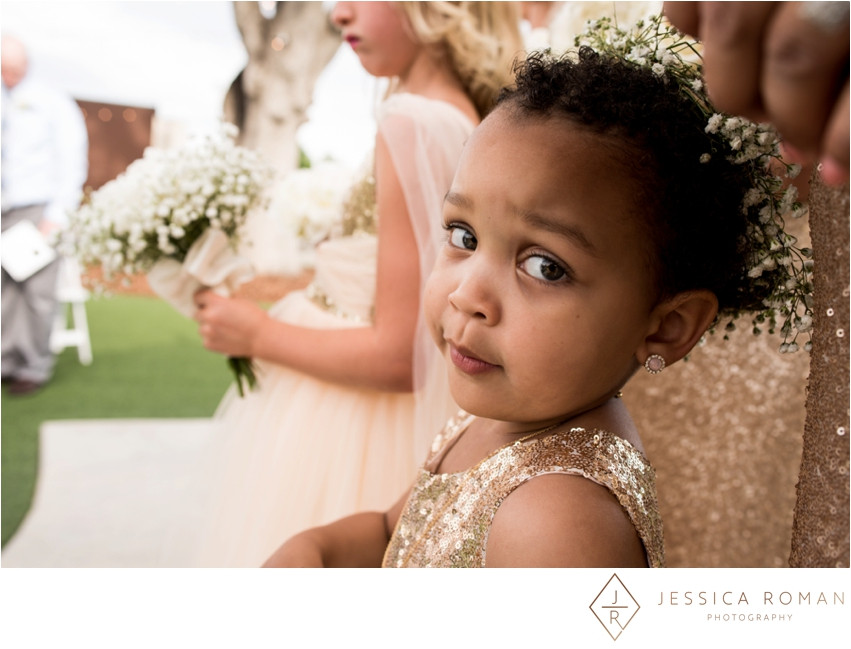 Sweet flower girls | Florals by Visual Impact Design | Jessica Roman Photography