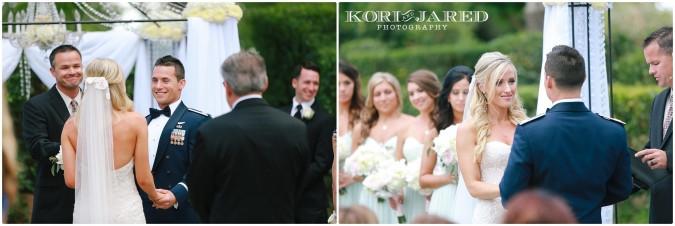 Romantic ceremony arch and flowers by Visual Impact Design | Kori & Jared Photography