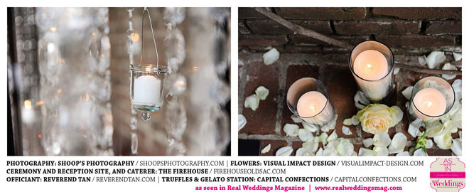 Soft romantic ceremony flowers by Visual Impact Design | Shoop's Photography | The Firehouse in Old Sacramento