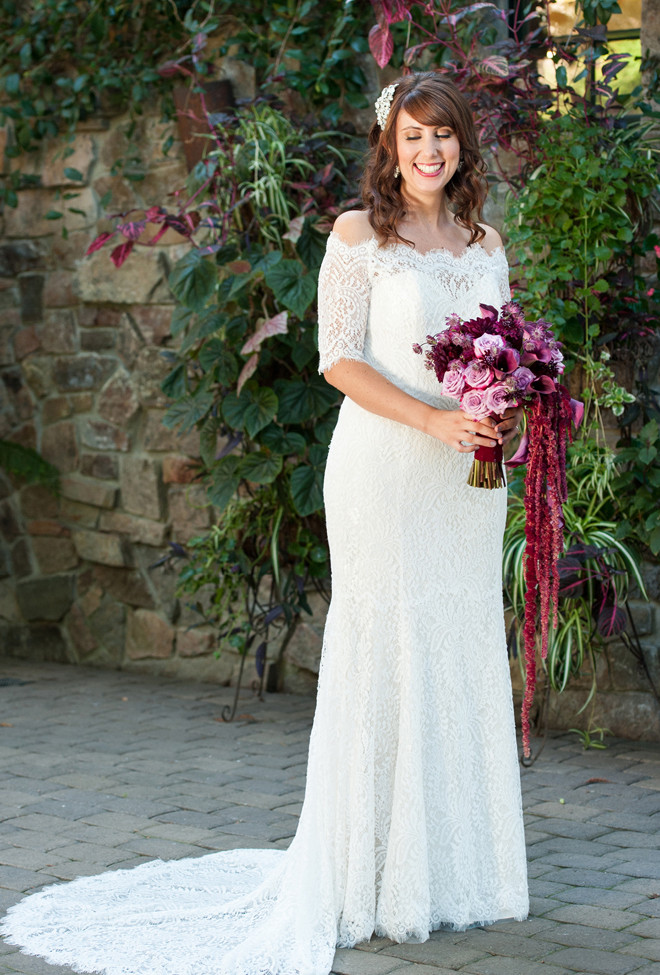 Real Weddings Magazine | Shoop's Photography | Bouquet by Visual Impact Design