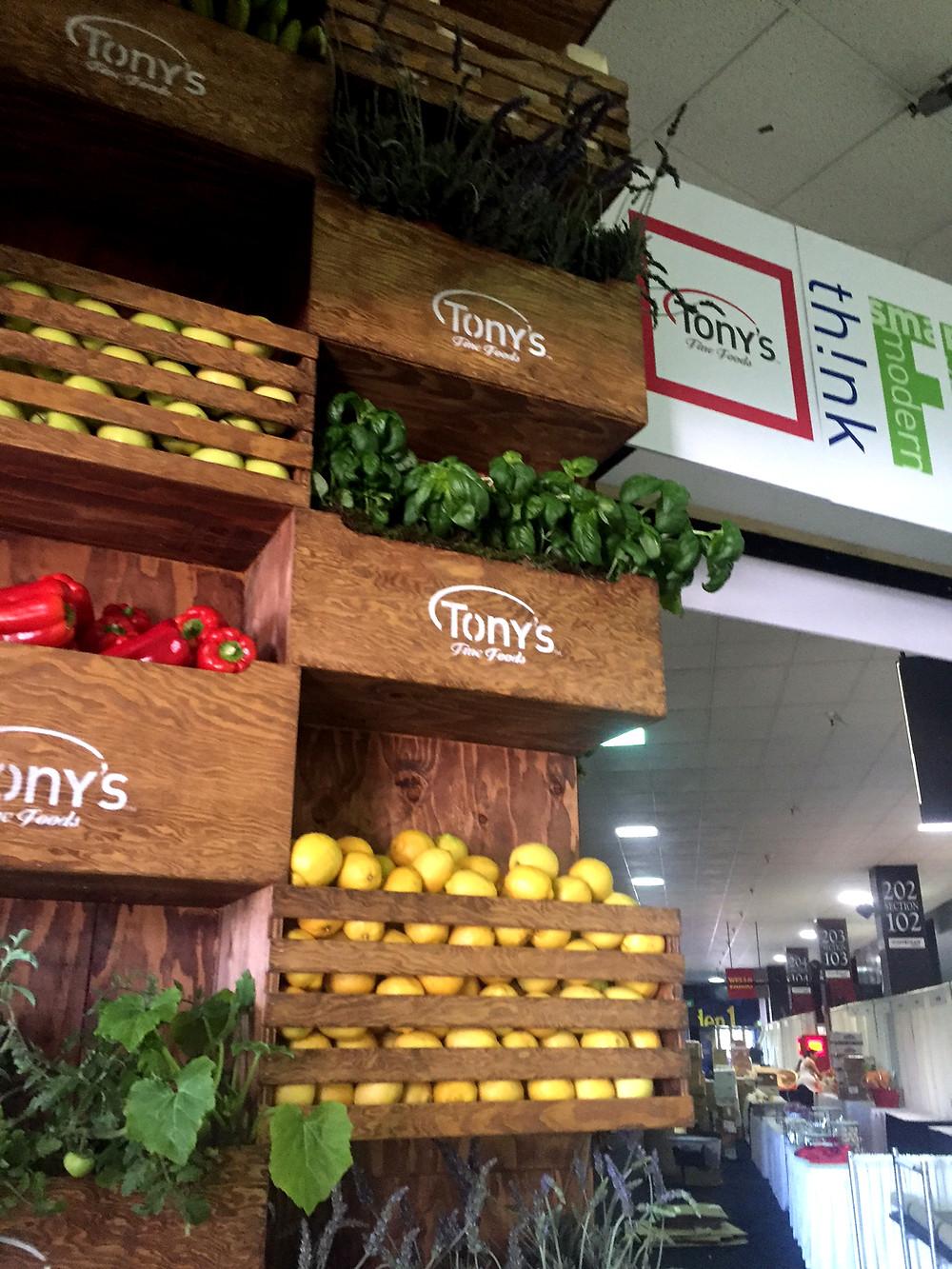 th!nk Fresh Food Show 2016 display entrance detail