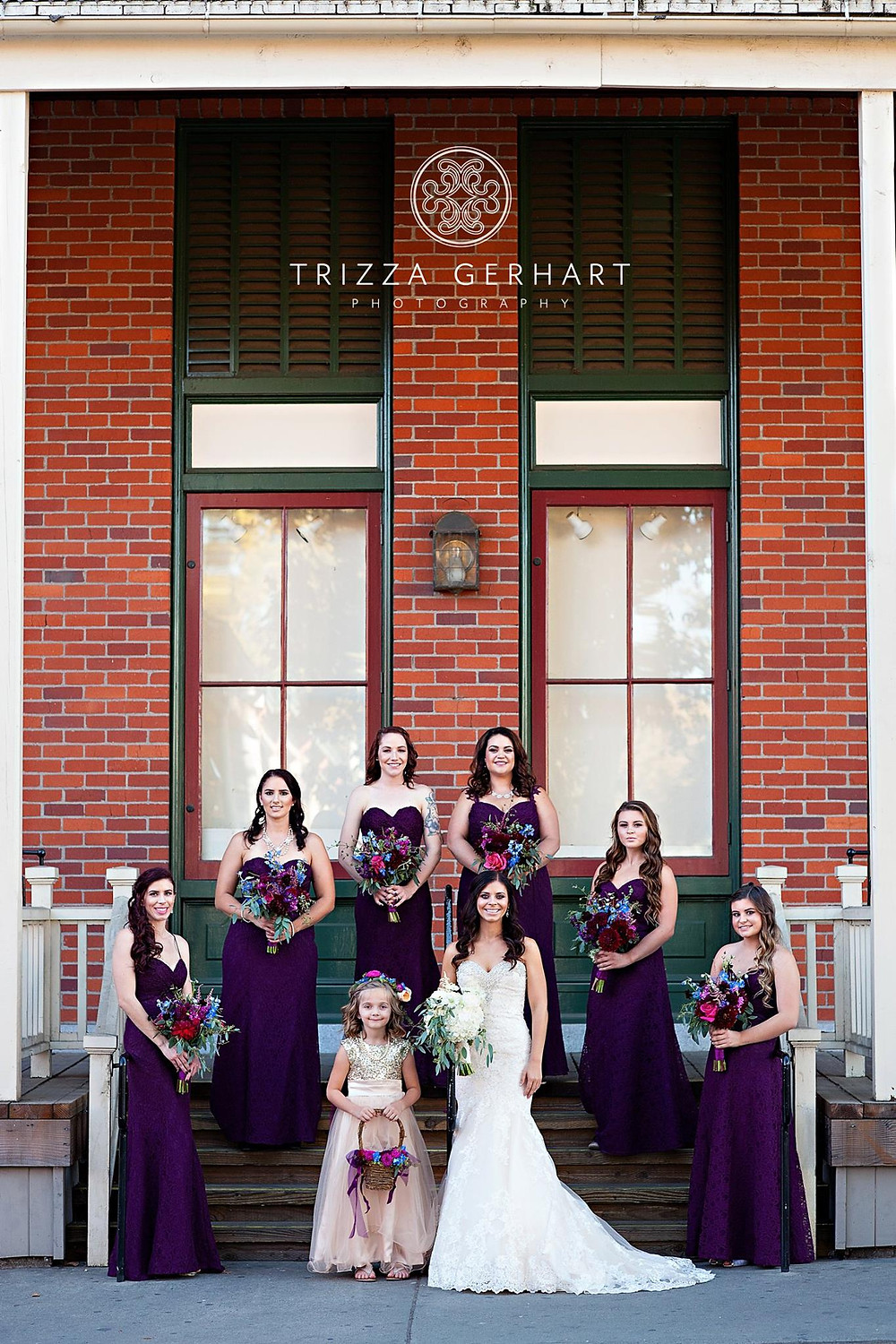 Bouquets by Visual Impact Design | Trizza Gerhart Photography | Old Sacramento