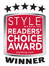Visual Impact Design won STYLE Magazine's Reader Choice Award