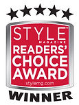 Visual Impact Design won STYLE Magazine's Reader Choice Award