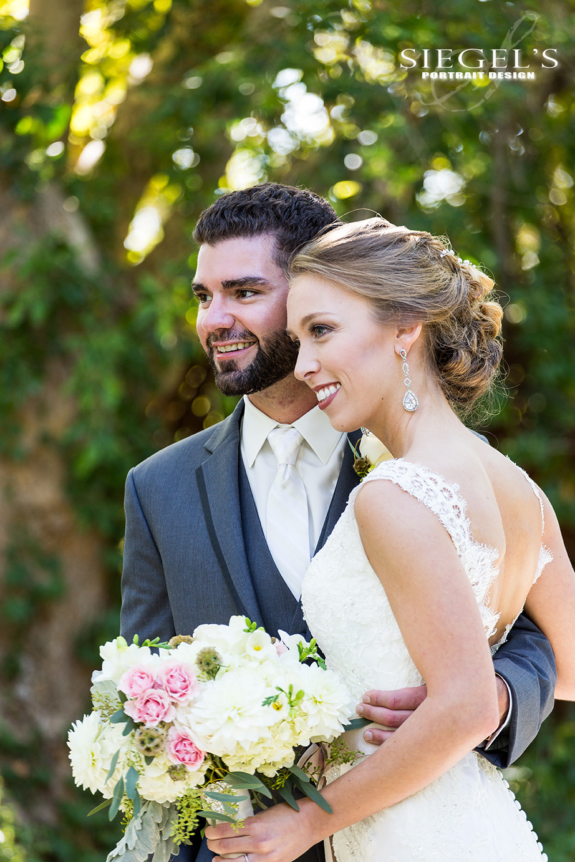 Garden Romance | Alyssa + Adam | Bridal Bouquet by Visual Impact Design | Photo by Siegel's Portrait Design | Venue: Newcastle Wedding Gardens, California