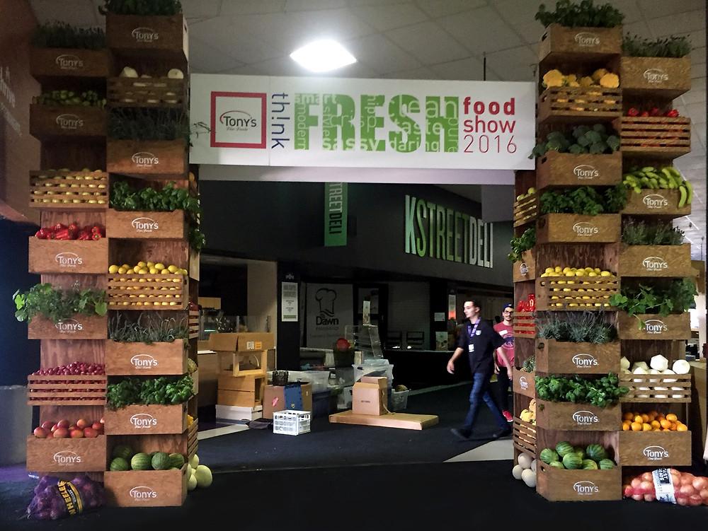 th!nk Fresh Food Show 2016 grand display entrance