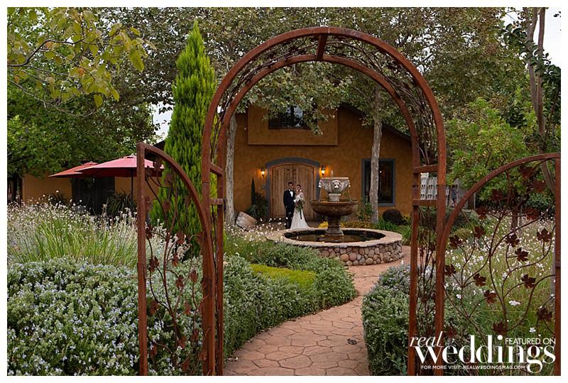 The courtyard at Avio Winery