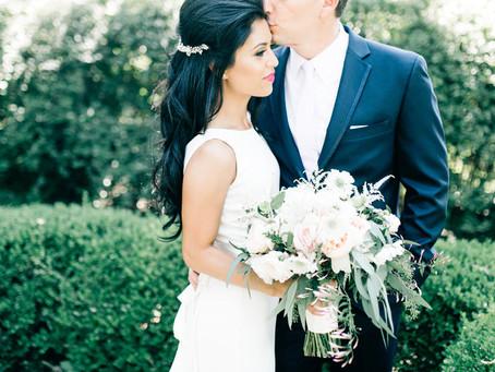Romantic Charm: Park Winters Wedding Florist