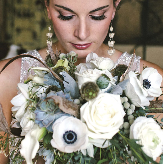 Refined rustic bridal bouquet by Visual Impact Design | Emik Nikora Wedding Photographers
