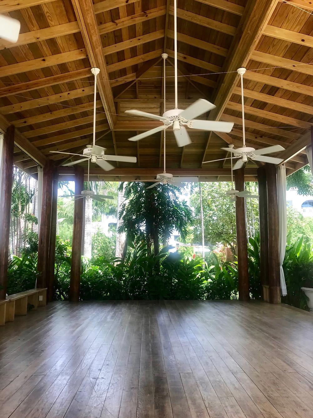 Sandals Royal Barbados Yoga Pavilion - inside