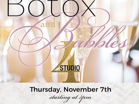 November Special Event:  Botox & Bubbles