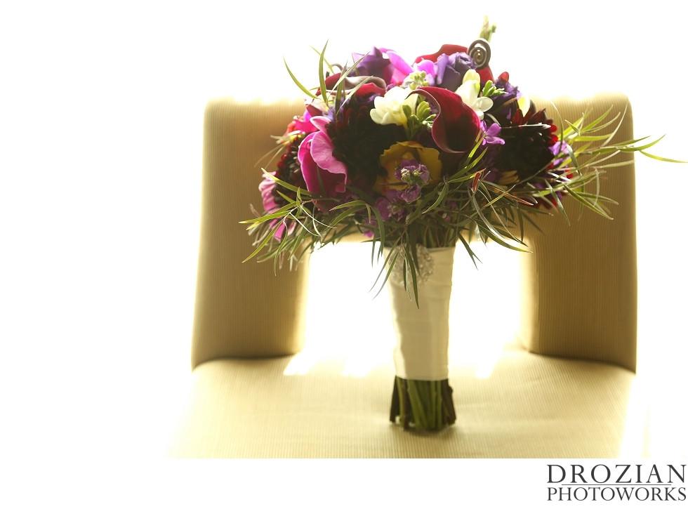 Bridal Bouquet by Visual Impact Design | Crocker Art Museum Wedding | Drozian Photoworks