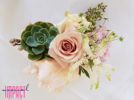 Seaside Wedding Style: Ocean Inspired Floral Design