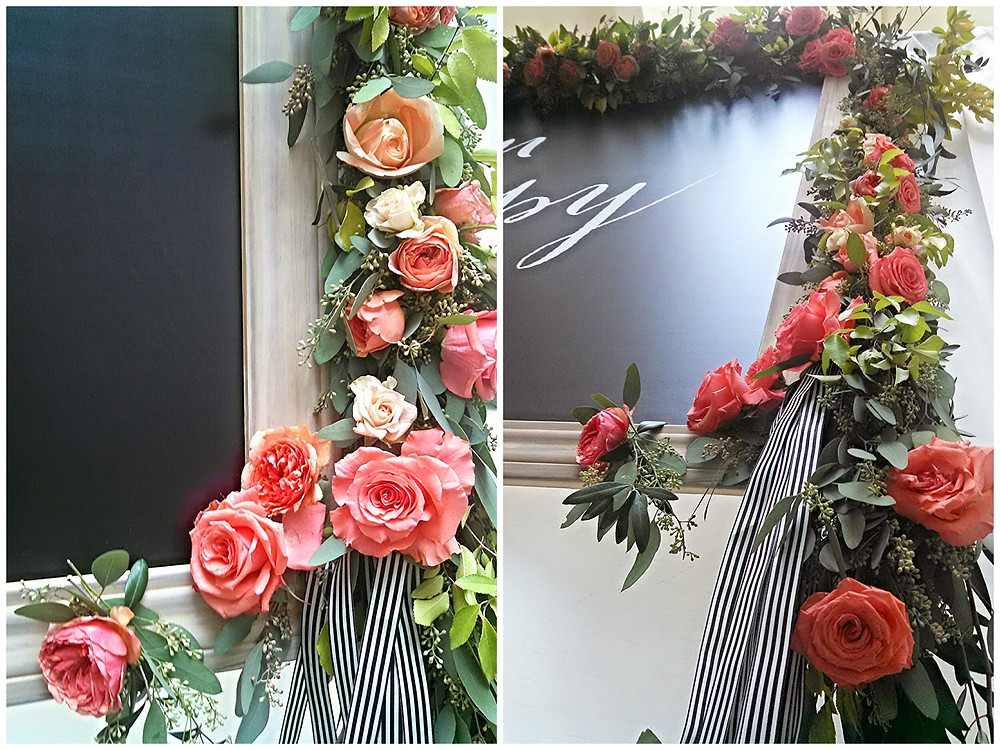 Visual Impact Design - garland for United Way's 13th Annual Women in Philanthropy Luncheon for