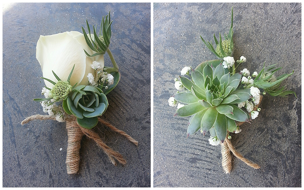 Boutonnieres by Visual Impact Design