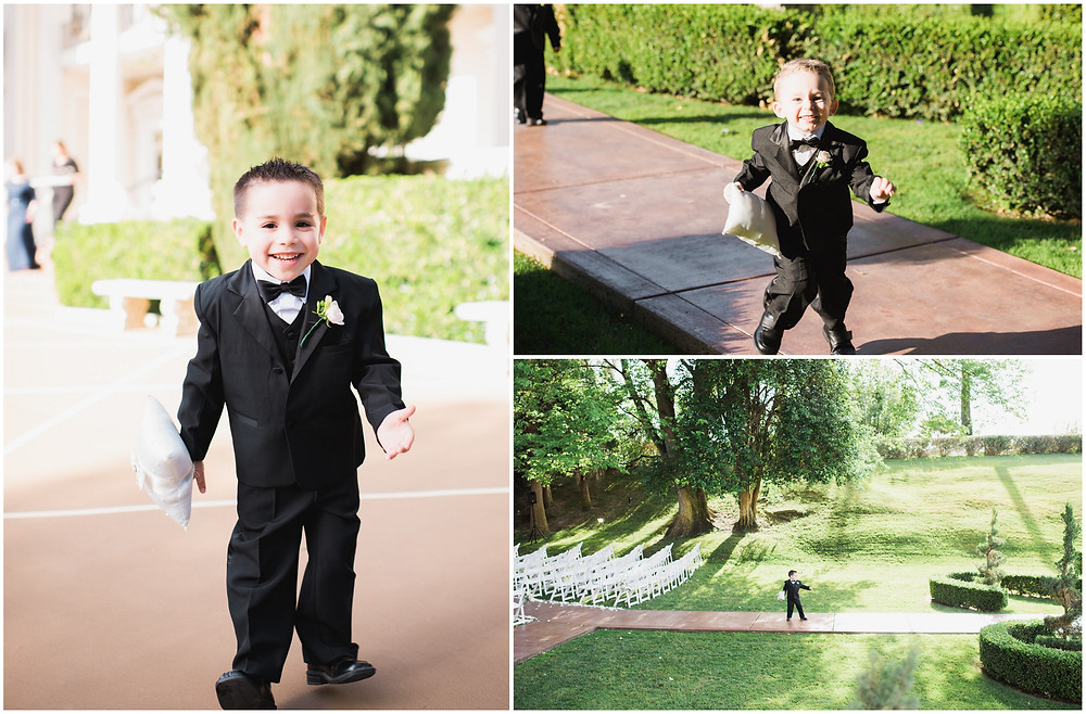 Ring Bearers | Boutonnieres by Visual Impact Design | Custock Photography