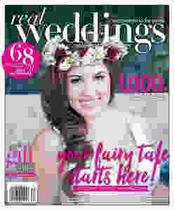 Real Weddings Magazine Winter-Spring 2017 cover