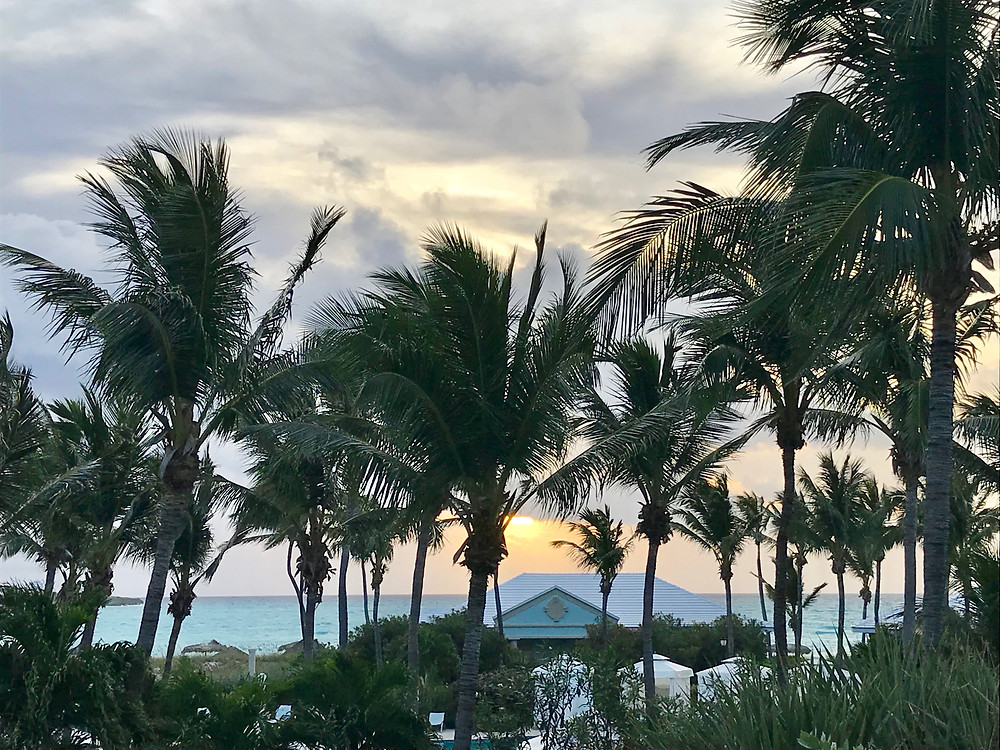 Ocean view from Sandals Emerald Bay Bahamas suite