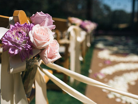 Romantic Pink Blush & Lavender: Catta Verdera Wedding Florist