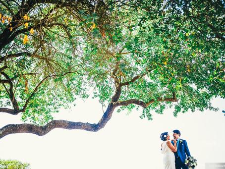 Amanda + Ryan's Inspiring Backyard Wedding