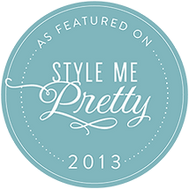 Visual Impact Design is featured on Style Me Pretty wedding blog