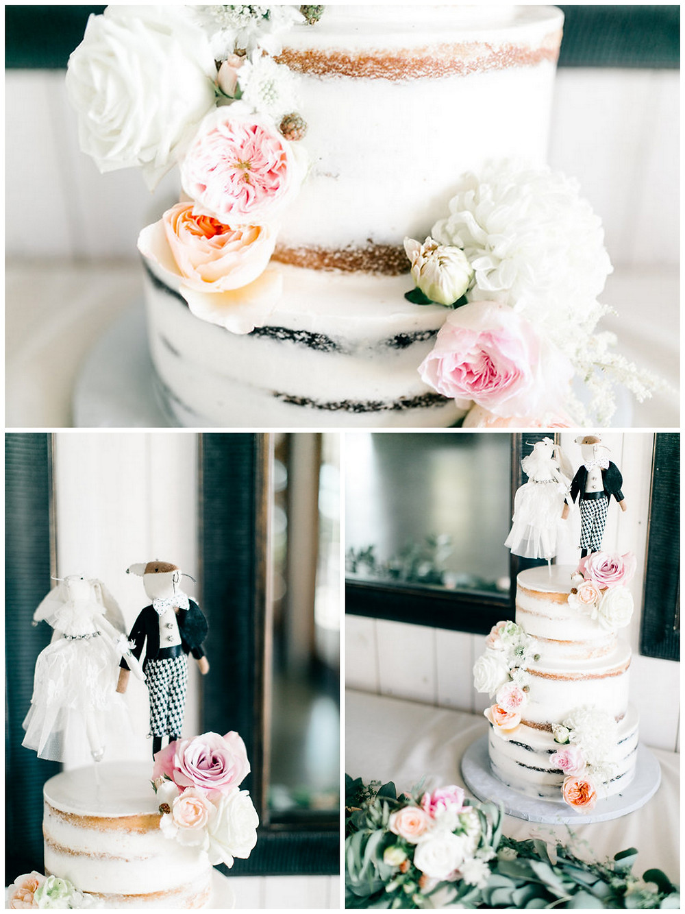 Cake Flowers by Visual Impact Design | Vienna Glenn Photography