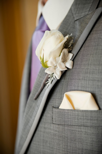 Boutonniere by Visual Impact Design | Carmen Salazar Photography