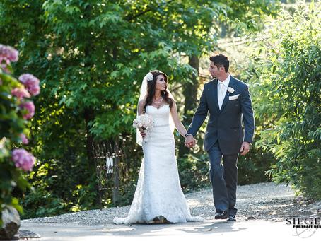 Garden Romance: Jason & Tiffany