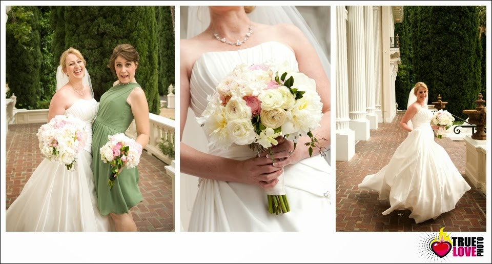 Grand Island Mansion Wedding | Blush, pink and cream bouquet by Visual Impact Design | True Love Photography