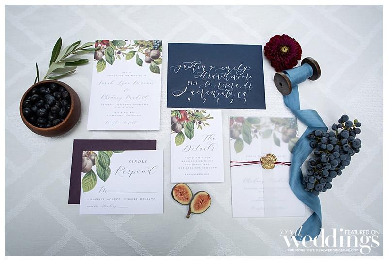 botanical invitation suite