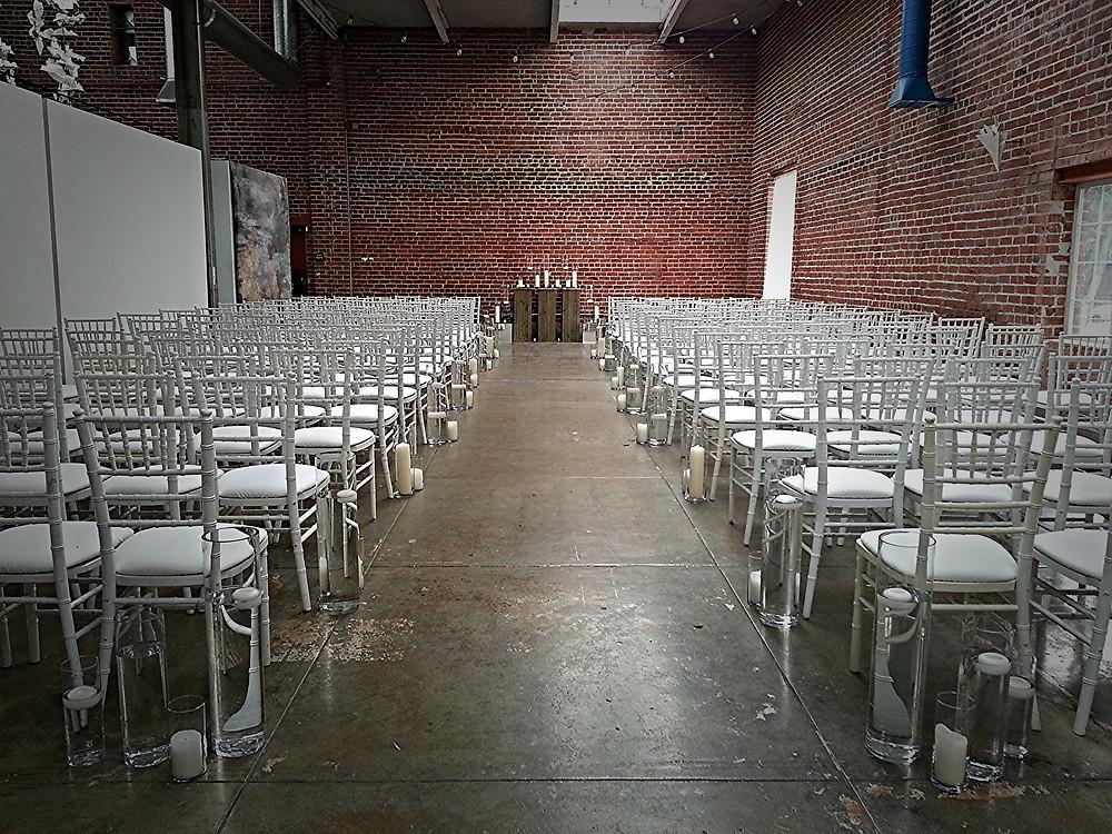 Wedding Ceremony at Beatnik Studios in Sacramento