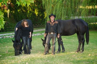 Georgia, Stephen and horses.jpg
