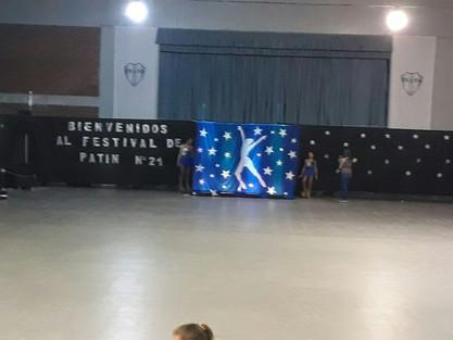 21° muestra de Patín Artístico en Argentino.