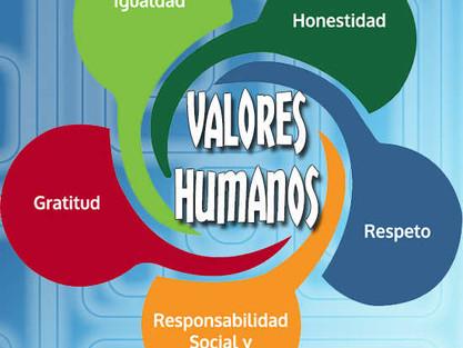 DÍA NACIONAL DE LOS VALORES HUMANOS