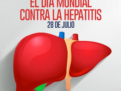 DÍA MUNDIAL DE LA LUCHA  CONTRA LA HEPATITIS