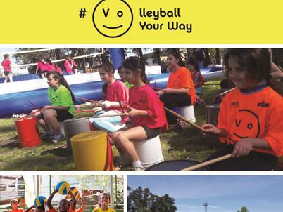 Festival del Vóleibol DÍA DEL NIÑO