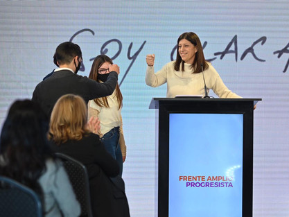 """CLARA GARCÍA: """"EL PROYECTO DE DESARROLLO CON INCLUSIÓN, LLEVA EL NOMBRE DEL FRENTE PROGRESISTA"""""""