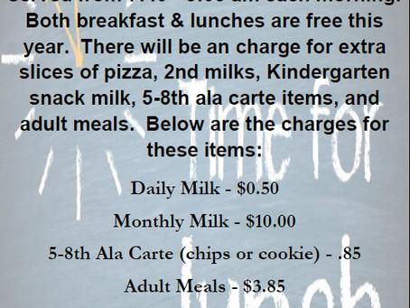 Breakfast & Lunch News
