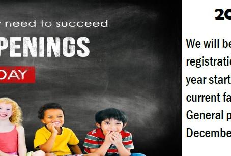 2022-2023 Preschool Registration Information