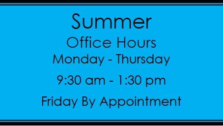 Summer School Office Hours
