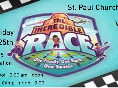 VBS - June 21st - 25th