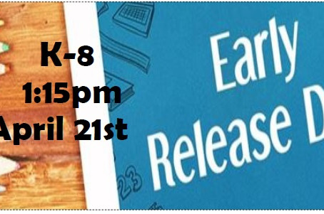April Early Release Information
