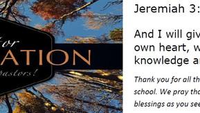 October is Pastor Appreciation Month!