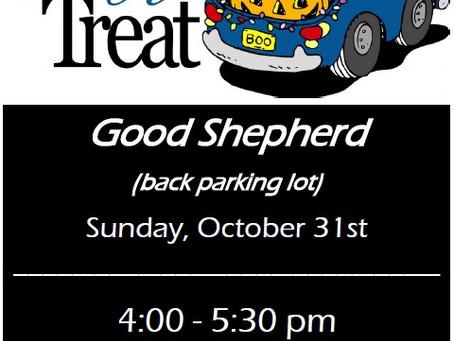 Good Shepherd Truck or Treat