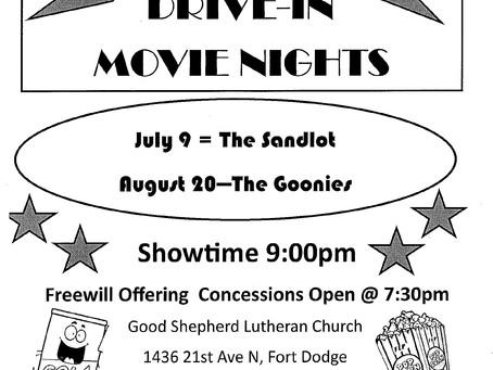 Good Shepherd Movie Nights