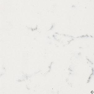 Discounted quartz for Carrara marble slab remnants