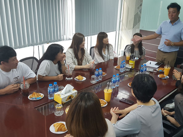 (8/7) Round-table conference With Korea CS Specialist